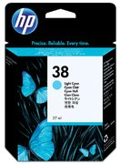 INKCARTRIDGE HP C9418A NO 38 LICHT BLAUW